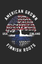 Finland Roots: notebook/diary/taskbook/120 pages/checked pages,6x9 inch