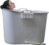 EKEO - Zitbad Voor Volwassenen - Bath Bucket - Wit