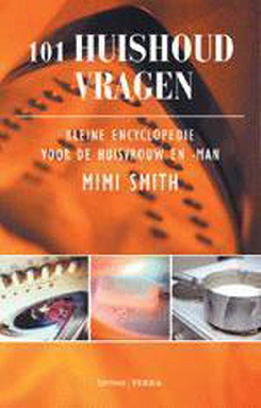 Cover van het boek '101 Huishoud vragen' van M. Smith