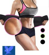 Zweetband buik- Waist Trainer - Afslankband - Sauna Belt - Afslank gordel met mobielhouder - Buik - Waist Shaper - Sweat Belt- Buiktrainer - Afvalband -Fitness band-