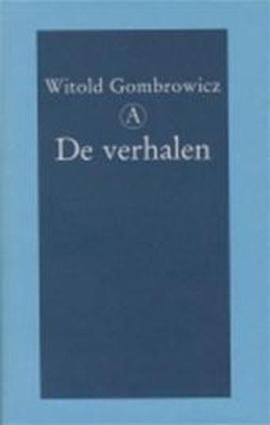 Boek cover Verhalen Gombrowicz Geb van Witold Gombrowicz (Hardcover)
