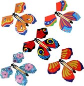 Magische Vliegende Vlinder | Vlinder Speelgoed | Beste Verrassende Cadeau-decoratie | 5 stuks