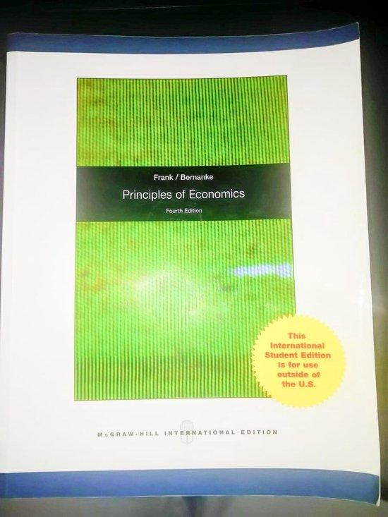 Boek cover Principles Of Economics van Moore McDowell