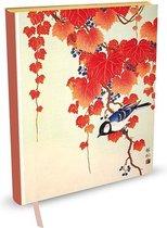 Peter Pauper Notitieboek - Bird and Red Ivy (large)