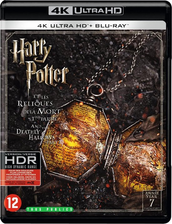 Harry Potter And The Deathly Hallows: Part 1 (4K Ultra HD Blu-ray)