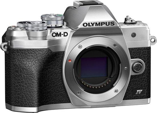 Olympus OM-D E-M10 Mark IV Body - Zilver