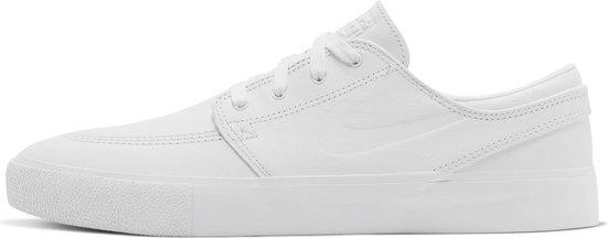 Nike Sb Zoom Stefan Janoski Rm Premium Sneakers - White/White-White - Maat 41