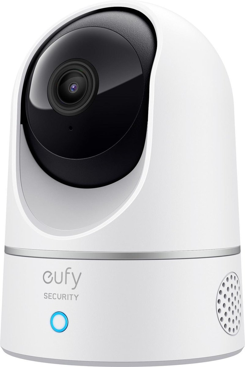 Eufy by Anker 2K Indoor Camera - Pan & Tilt - Beveiligingscamera voor binnen - Wit