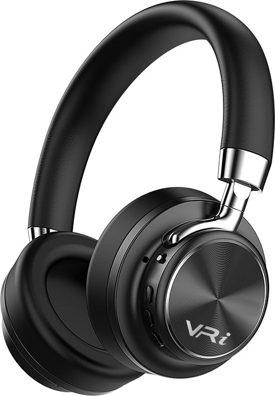 VR-i Rhythm ANC - over-ear koptelefoon met Noice Cancelling - Zwart - incl. accessoire