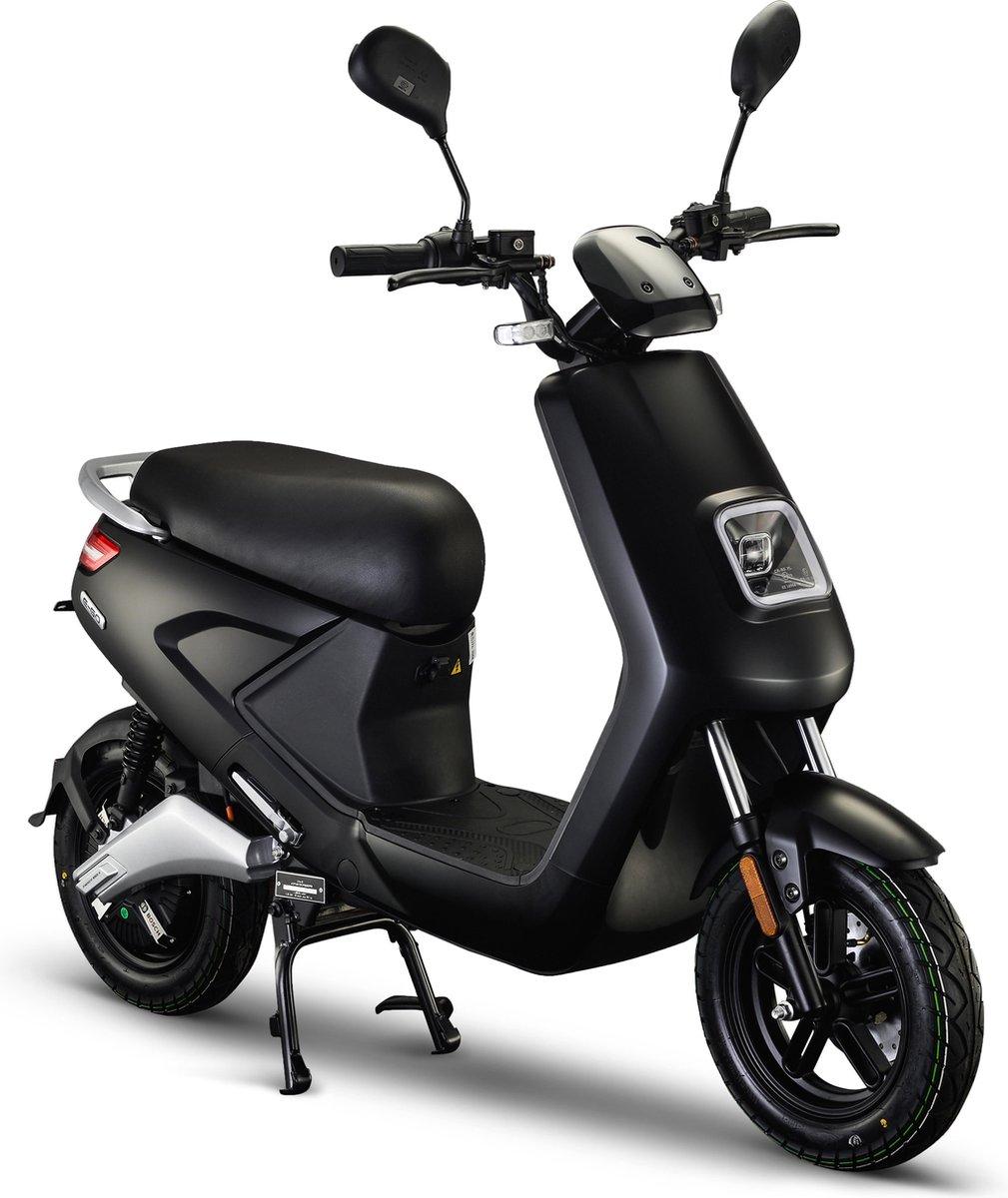 IVA E-GO S4 Elektrische Scooter Matzwart