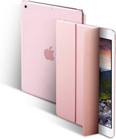 Glitter Case voor iPad 9.7 5/6/ Air1/Air2 2017/2018 Flip Cover – Modern Tablet Hoesje – Rose Gold