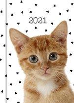 Katten Agenda 2021 Rood