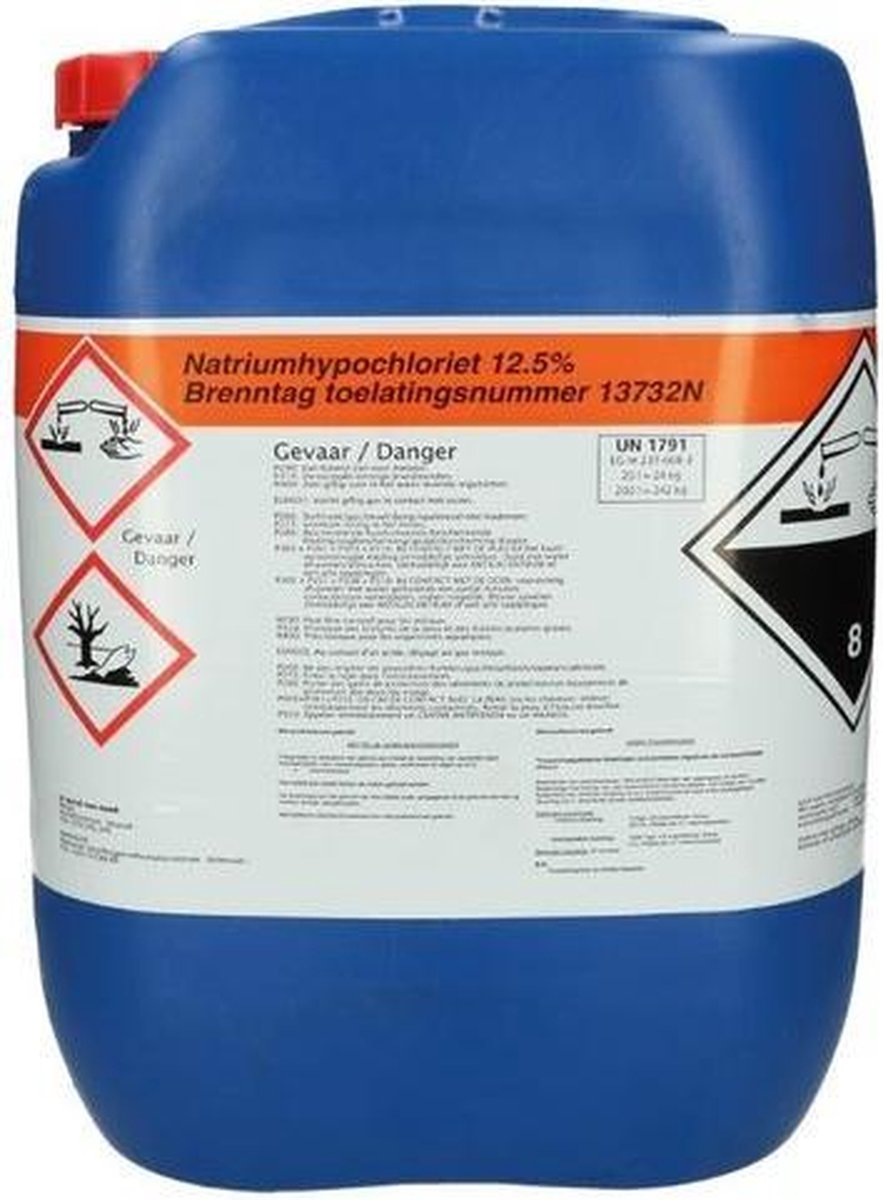 Brenntag Natriumhypochloriet 12,5% 24 kg