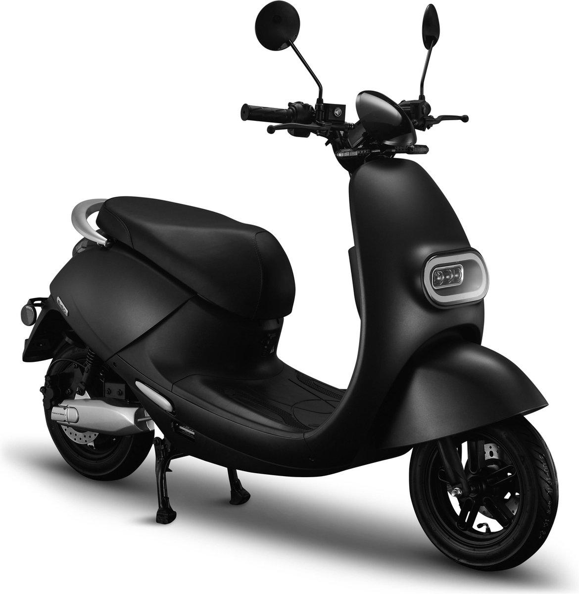 IVA E-GO S3 Elektrische Scooter Matzwart