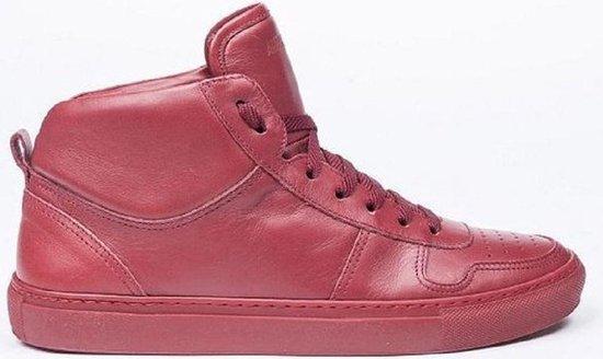 Antony morato rode leren sneakers Maat - 44