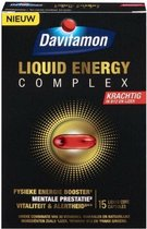 Davitamon Liquid Energy Complex -  Energiesupplement met Vitamine B12 en Ijzer - Voedingssupplement - 15 capsules