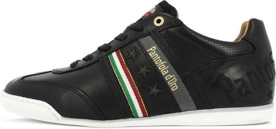 Pantofola d'Oro Imola Romagna Uomo Lage Zwarte Heren Sneaker 41