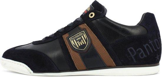 Pantofola d'Oro Imola Scudo Uomo Lage Donker Blauwe Heren Sneaker 43
