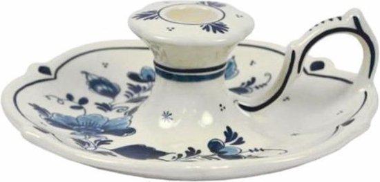Royal Goedewaagen - Handbeschilderde Kandelaar 6 cm - Delfts Blauw