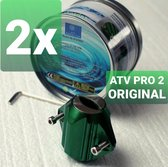 ATV PRO 2 Waterontharder BUNDEL 2 Stuks- Magnetisch - ✅ 15.000 GAUSS - Water ontharder waterleiding - Anti Kalk - Waterontkalker magneet
