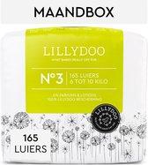 LILLYDOO luiers - Maat 3 (6-10 kg) - 165 Stuks - Maandbox