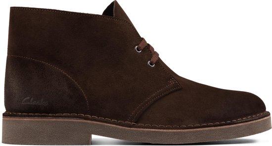 Clarks Heren Desert Boot 2 - Dark Brown Suede - Maat 43