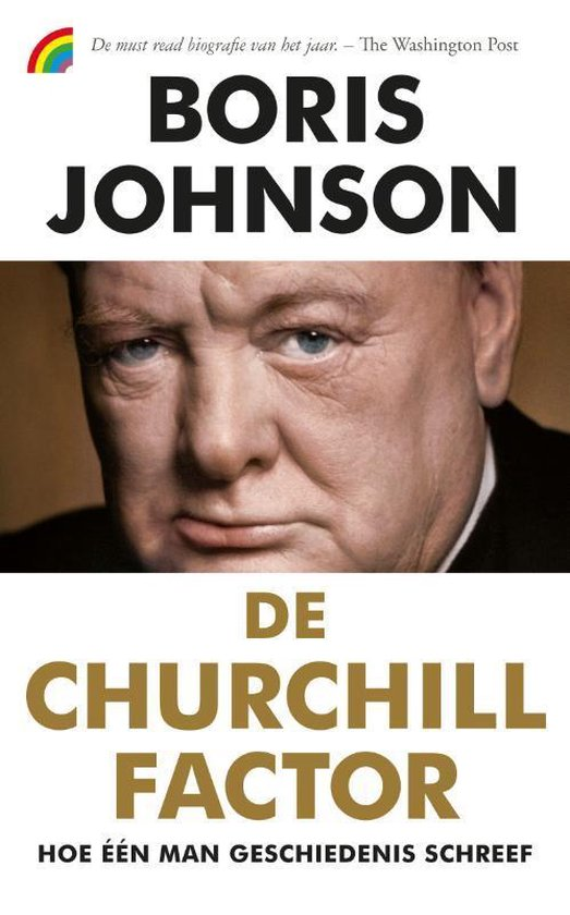 Boek cover De Churchill factor van Boris Johnson (Paperback)