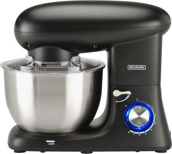 Bourgini Kitchen Chef Plus Keukenmachine Zwart