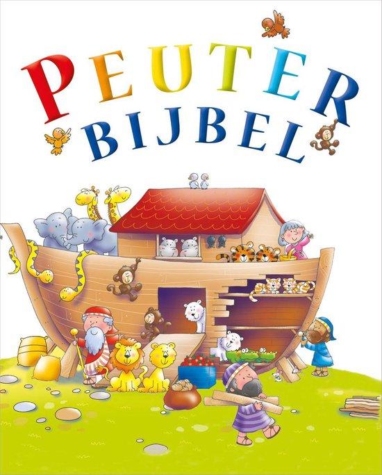Boek cover Peuterbijbel van J. David (Hardcover)
