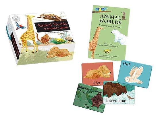 Boek cover Animal Worlds van Libby Walden (Hardcover)