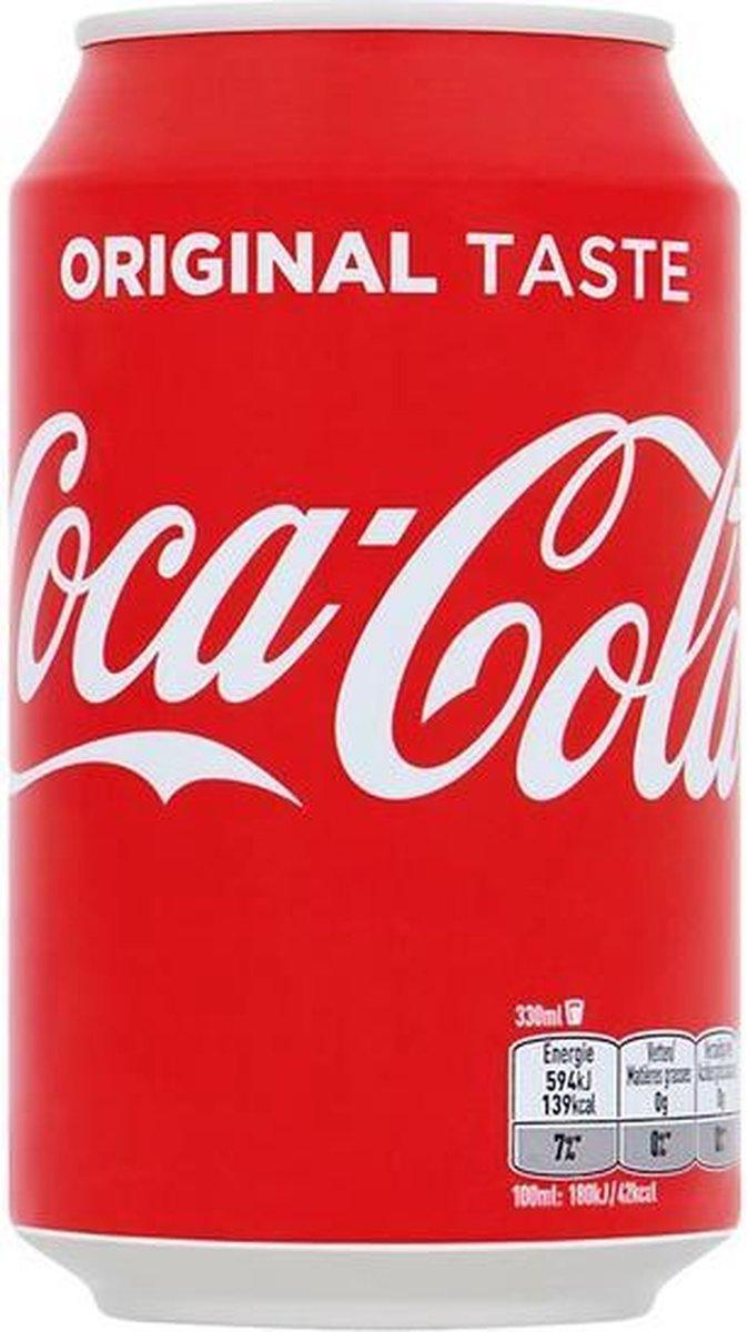Coca Cola 24 Blikjes 33cl Tray 24 Stuks Frisdrank