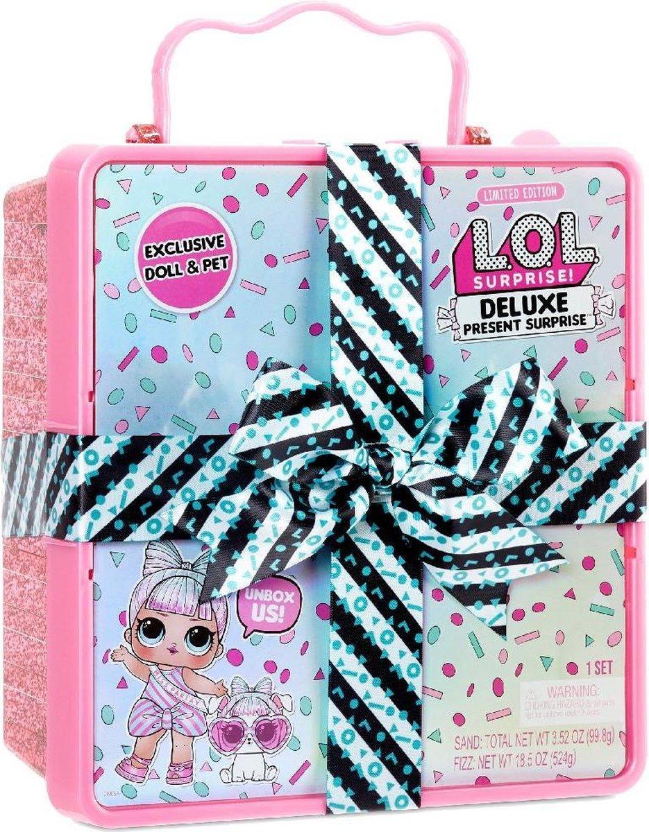 L.O.L. Surprise Deluxe Present Surprise Roze