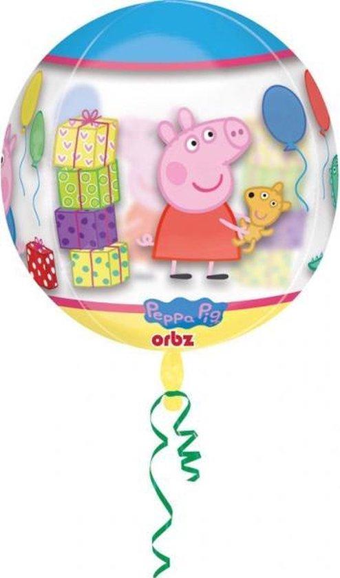 Peppa Pig Helium Ballon Bal 40x38cm leeg