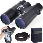 Nince 10x42 Verrekijker - Verrekijker compact compleet met telefoon adapter - verrekijker vogelaars - verrekijker voor kinderen / volwassenen