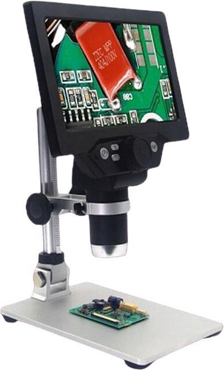 Digitale Microscoop M210 - 7 Inch LCD-scherm - 12MP - 1-1200X Vergroting - Hoge Kwaliteit - Oplaadbaar