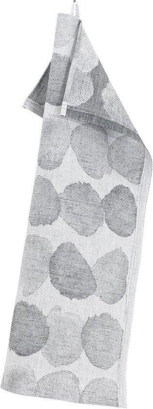 Lapuan Kankurit SADE theedoek white-grey - 46x70