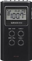 Sangean DT-120 - Mini Radio - Draagbare Radio met AM en FM - Zwart