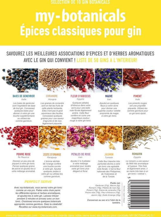 My-Botanicals - Epices classiques pour GIN (FR) - My Botanicals