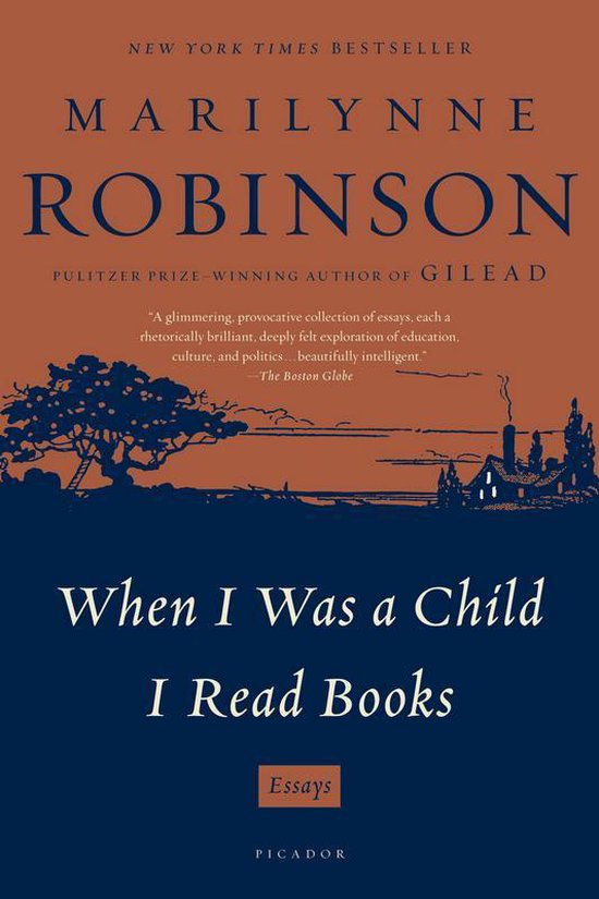 Boek cover When I Was a Child I Read Books van Marilynne Robinson (Paperback)