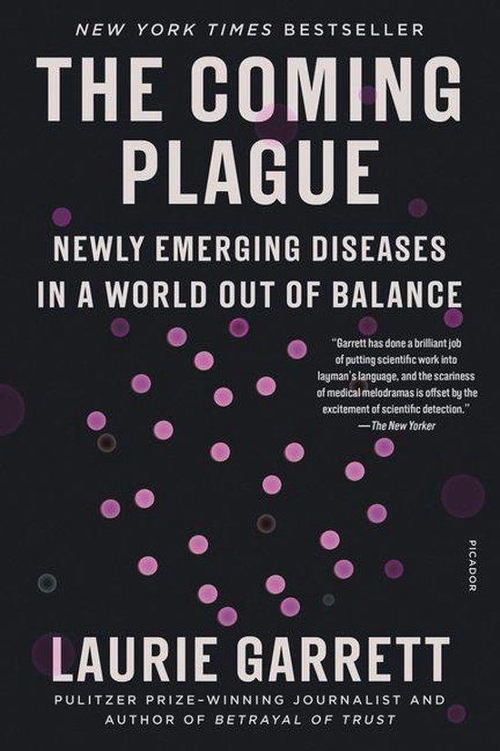 Boek cover The Coming Plague van Laurie Garrett (Onbekend)
