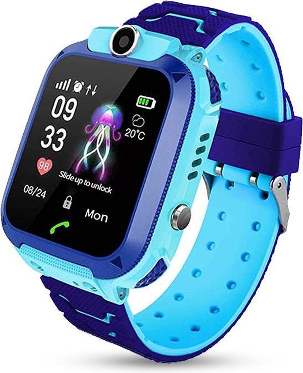 E-Shoppr® Leercomputer Horloge - GPS Horloge Kind - Engels - Blauw