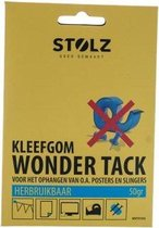 Stolz - Kleefgom Wonder tack - Kleef gum - Herbruikbaar - 50 gram