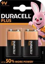 Duracell Plus alkaline 9V-batterijen, verpakking v