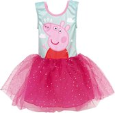 Peppa Pig Jurk - Verkleed - Kleding - Jurkje - Verkleedjurk - Verkleed Jurk Peppa - Cadeau - Roze - Maat 92-104