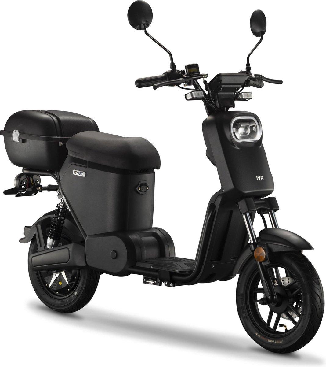 IVA E-GO S2 Elektrische Scooter Matzwart