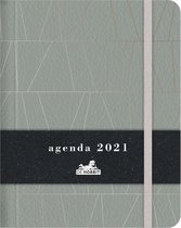Agenda 2021 - Organizer 2021 - Groen de luxe (18cm x 14cm)