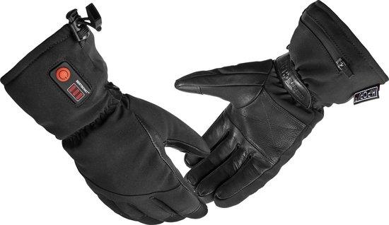 BERTSCHAT® | Verwarmde handschoenen met oplaadbare accu | Maat: XS | Unisex | Zwart [Ski handschoenen / winter handschoenen / elektrische handschoenen]