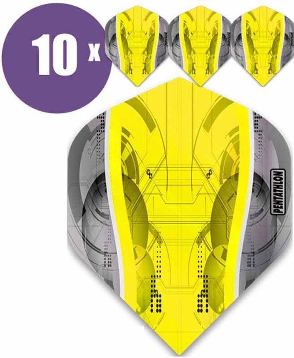 ABC Darts Flights - Pentathlon Geel Science - 10 sets (30 st.) Dart Flights