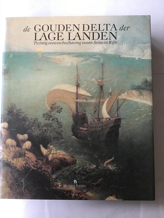Boek cover De gouden delta der lage landen van Herman Balthazar (Hardcover)