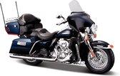 Harley Davidson FLHTK Electra Glide Ultra Limited 2013 (Donkerblauw) 1/18 Maisto - Modelmotor - Schaalmodel - Model motor